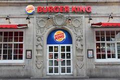 Restaurante de Burger King Imagens de Stock