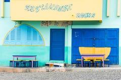 Restaurante de Cabo Verde imagem de stock