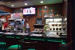Restaurante de Clinton Station Diner fotos de stock royalty free