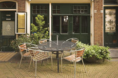 Restaurante de Delft Foto de archivo libre de regalías