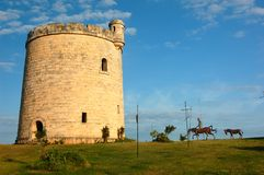 Restaurante de Don Quixote, praia de Varadero, Cuba Imagens de Stock