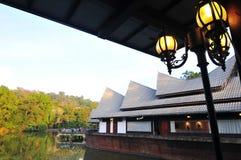 Restaurante de flutuação Fotos de Stock Royalty Free