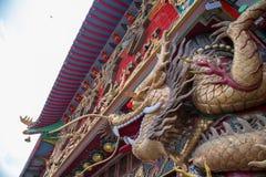 Restaurante de flutua??o do reino enorme em Hong Kong fotos de stock