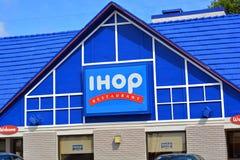 Restaurante de IHOP Imágenes de archivo libres de regalías