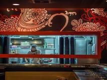 Restaurante de Japão foto de stock