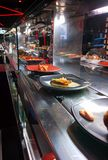 Restaurante de la barra de sushi Imágenes de archivo libres de regalías