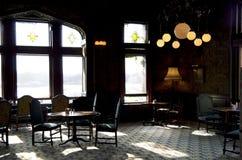 Restaurante de la barra del vintage Fotografía de archivo