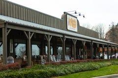 Restaurante de la cadena del barril de la galleta Foto de archivo libre de regalías