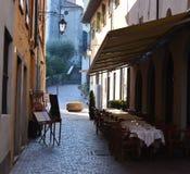Restaurante de la calle Imagen de archivo libre de regalías