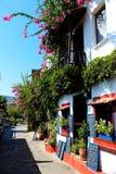 Restaurante de la casa de Kalkan Imagen de archivo libre de regalías