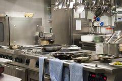 Restaurante de la cocina imagen de archivo