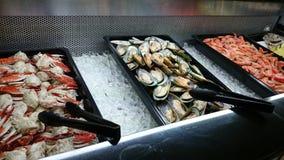 Restaurante de la comida fría Fotografía de archivo libre de regalías