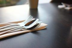 Restaurante de la comida y de la bebida Imágenes de archivo libres de regalías