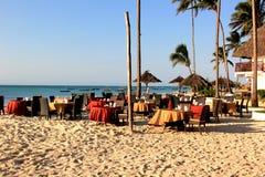 Restaurante de la costa Fotos de archivo