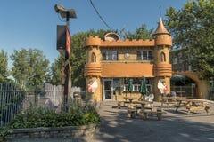 Restaurante de la lechería fotografía de archivo libre de regalías