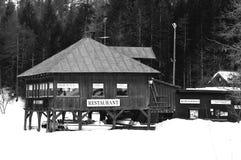 Restaurante de la montaña Imagen de archivo