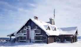 Restaurante de la montaña Imágenes de archivo libres de regalías