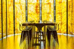 Restaurante de la piel de serpiente Imágenes de archivo libres de regalías