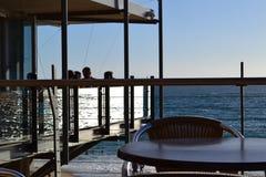 Restaurante de la playa Fotografía de archivo libre de regalías