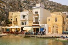 Restaurante de la playa Imagenes de archivo
