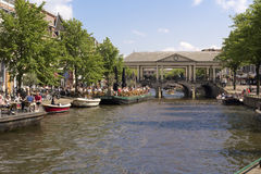 Restaurante de Leiden Imagen de archivo libre de regalías