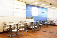 Restaurante de los alimentos de preparación rápida Fotos de archivo libres de regalías