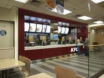Restaurante de los alimentos de preparación rápida de KFC Imagenes de archivo