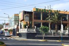 Restaurante de los alimentos de preparación rápida de Norky en Arequipa, Perú Imagenes de archivo