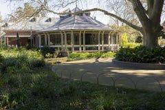Restaurante de los jardines botánicos de Blanco, Adelaide Botanic Garden, Sout Fotografía de archivo