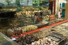 Restaurante de los mariscos Foto de archivo libre de regalías