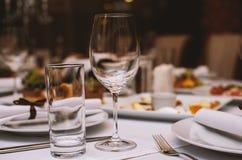 Restaurante de lujo fotografía de archivo