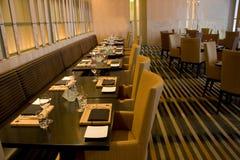 Restaurante de lujo de la barra Imagenes de archivo