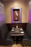 Restaurante de lujo de la barra Fotografía de archivo