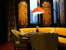 Restaurante de lujo en Shangai China Fotos de archivo