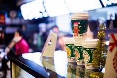 Restaurante de Mcdonald Fotos de archivo libres de regalías