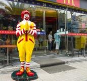 Restaurante de McDonalds en Bangkok Foto de archivo libre de regalías