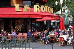 Restaurante de París Imagen de archivo libre de regalías