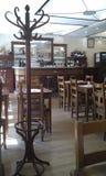 Restaurante de París del estilo tradicional Imagenes de archivo