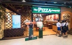 Restaurante de Pizza Company en Siam Center, Bangkok Imagen de archivo