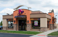 Restaurante de Taco Bell Fotografia de Stock Royalty Free