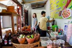 Restaurante de Tailandia Foto de archivo libre de regalías