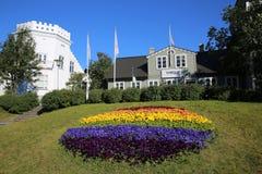 Restaurante de Torfan en Reykjavik islandia Fotos de archivo