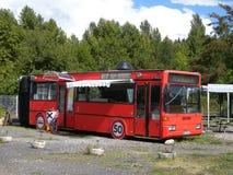 Restaurante del autobús Imagenes de archivo