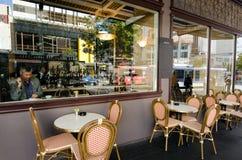 Restaurante del café Imagen de archivo