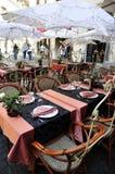 Restaurante del café en la calle Imagen de archivo libre de regalías
