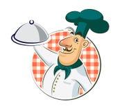 Restaurante del cocinero Fotografía de archivo