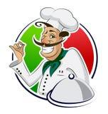 Restaurante del cocinero Foto de archivo libre de regalías