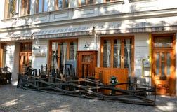 Restaurante del ` de los rasgones y de los santos del `, Bucarest Fotografía de archivo libre de regalías