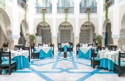 Restaurante del hotel Foto de archivo libre de regalías