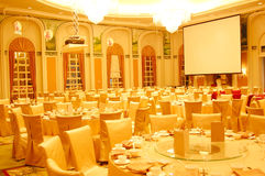 Restaurante del hotel de lujo Foto de archivo